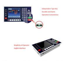 Eixo 2 Moagem CNC tornos de controlador de movimento 150kHz do Sistema de Controle
