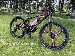 La velocidad de 21 de 26 pulgadas potente batería de Litio bicicleta eléctrica con 3 radios rueda integrado