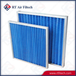 G4 Panel plegado lavable Pre con filtros de fibra sintética
