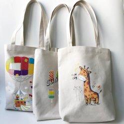 Tejido de moda personalizada/reciclaje/Consumo/supermercado/Calico Tote Tienda de Regalos Bolsa de algodón de lienzo de la playa