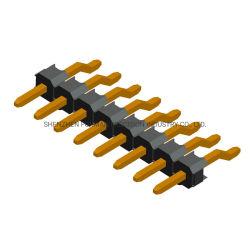 PCBの接続ターミナルすくいまっすぐなPinヘッダ構成ワイヤーコネクター0.8mmピッチの~ 2.54ピッチの女性/男性Pinヘッダ