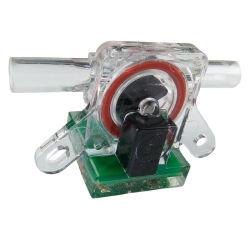 Tipo de ópticas de plástico del sensor de caudal de agua