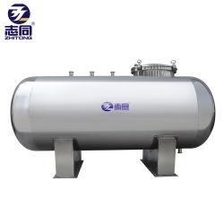L'horizontale en acier inoxydable de l'eau de l'industrie de soupape à flotteur du réservoir de stockage