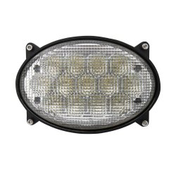 تم اعتماد مصباح عمل CREE LED بيضاوي جديد بقدرة 65 واط للجرار الزراعي IP68 المقاوم للماء من الدرجة CE RoHS