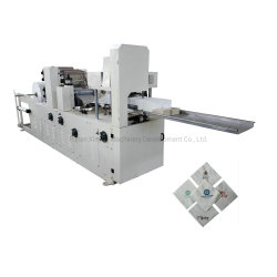 Het volledige Automatische Vouwende Papieren zakdoekje die van het Servet van de Kleurendruk Machine maken
