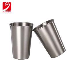 Aço inoxidável Beer Cup Copa de água para Bar ou Homeused