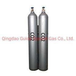 40L do cilindro de dióxido de carbono com dióxido de carbono de elevada pureza 99,999%