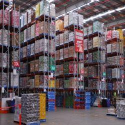 Mensola selettiva di memoria del pallet per il magazzino industriale