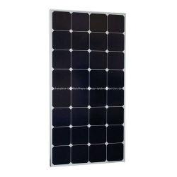 A elevada eficiência Spr de volta em contato com 100W Watts 12volts Sunpower módulo do painel solar para caminhonetes Boat Carro Eléctrico do Sistema de 12V