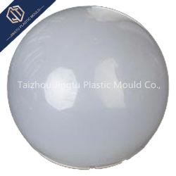 Formato personalizado branco da tampa de iluminação LED de Injeção de Plástico PC abajur