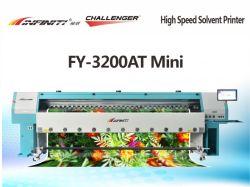 INFINITI Challenger Digital Inkjet Wide Large Format Solvent Printer Fy-3200at Seiko Alpha Sg1024 고속 및 긴 수명을 갖춘 Mini/H4 프린트 헤드
