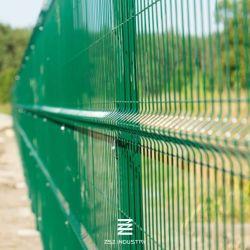 3D recubierto de PVC Panel cercas de malla de alambre 1530 mm x 2500mm