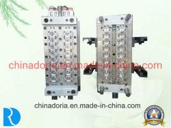 16/dieciséis canales calientes de la cavidad de preformas de PET/molde de inyección de plástico de la preforma