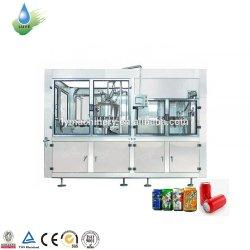 Avvolgere di coperchiamento di riempimento di lavaggio intorno all'etichettatrice della fiala orizzontale automatica per la latta