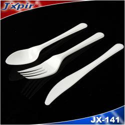 Forcella e lama stabilite del cucchiaio degli articoli per la tavola di plastica degli scolari