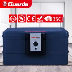 Guarda 30 분 A4, 휴대용 디자인 실용적인 안전한 상자 안전한, 서류상 화재와 물 증거 9.8L