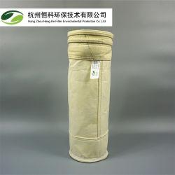 Sacchetto filtro non tessuto del collettore di polveri del panno del feltro dell'ago della vetroresina