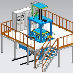 La pressione bassa la macchina di pressofusione per l'alloggiamento del compressore della lega di alluminio
