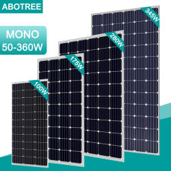 100W моно модуль солнечной панели солнечных батарей для использования солнечной энергии электрические машины