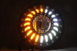 Autoteil-Beleuchtungssystem 7 '' LED-Selbstscheinwerfer-hoher niedriger Träger-Kopf-Lampen-Auto-Scheinwerfer mit DRL RGB für Jeep