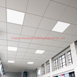 Ignifugé métal suspendu au plafond décoratif insonorisées faux plafond en aluminium