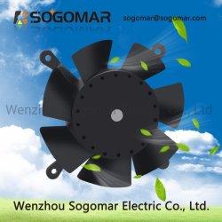 Sf12038 AC van de Ventilator van de Bladen van de Ventilatie van de Buis Koel Plastic AsVentilator