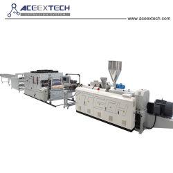 ASA PMMA PVC recouvert de résine synthétique de l'extrudeuse de tuiles