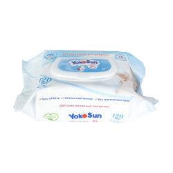 Biodegradáveis OEM Toalhetes macios para bebé de alta qualidade para limpar o rosto e mãos