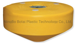 Boa di attracco di plastica cilindrica marina riempita di gomma piuma dell'HDPE (MB1500P)