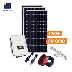 Lista solare di prezzi del sistema solare dell'UPS del legame di griglia di alta efficienza 10kw con il mono comitato cristallino