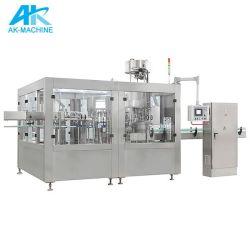 Bouteille de minéraux automatique l'eau pure et jus/ Soft Drink/l'embouteillage de la machine de remplissage de la bière boisson prix d'usine /l'équipement