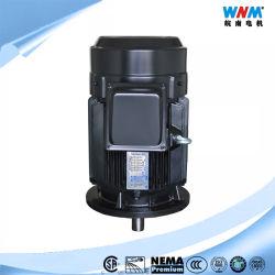 Y2 Elektrische Motor de In drie stadia van de Reeks voor het Industriële 80m1-2 380V 1HP AC Algemene Elektrische (Elektro) Gewicht 5.7kg 3 Cl F IP 55 Voltage 230/400 van de Motor van de Fase van S1