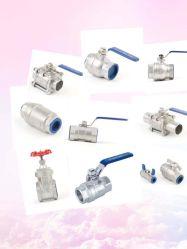 Промышленные нержавеющая сталь 2PC шаровой клапан CF8/CF8m 1000wog ДНЯО