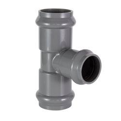 O anel de borracha de PVC T comum para o abastecimento de água