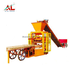 Alin Qtj4-26 de marque semi-automatique les fabricants de machine à fabriquer des blocs