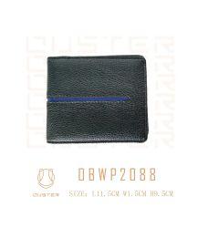 贅沢なブランドの品質基本的な様式の本革PUの偶然の札入れの人の財布