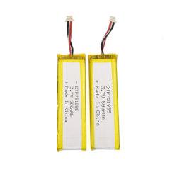 Commerce de gros de la pao751855 Li-polymère 500mAh Li-ion Batterie au lithium-polymère 3,7 V