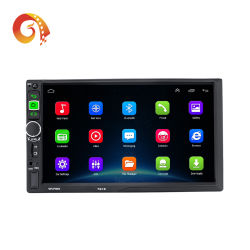 공장 공급 보편적인 접촉 스크린 2 DIN Autoradio GPS 항해 체계 7개 인치 자동 라디오 인조 인간 중앙 차 DVD 다중 매체 선수