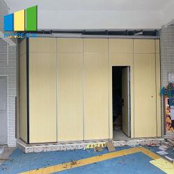 알루미늄 움직일 수 있는 접히는 룸은 컨퍼런스 센터를 위한 시스템을 분할한다