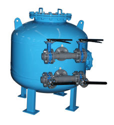 Filtro a sacco multimedio per il trattamento delle acque