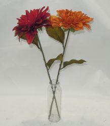 Dália artificiais bouquet de flores para decoração de interiores