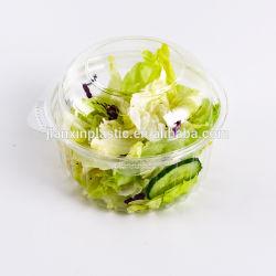 De duidelijke Plastic Doos van de Salade van de Groente van het Fruit van de Blaar Plantaardige Verpakkende
