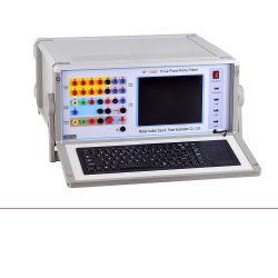 중국 보편적인 시험기 저가 0.2 종류 LCD 디스플레이 Ht 1200 전기 고수준 잘 수출된 마이크로컴퓨터 6 단계 보호 릴레이 검사자