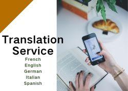 Servicio de traducción Traductor de idiomas, español al inglés Traducción al francés traducir a Ingles traducir de inglés al árabe por DDS