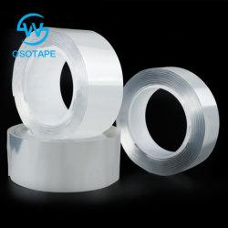 La magia de multiuso Mango de Nano lavable extraíble reutilizables de cinta adhesiva de doble cara integrada Traceless tiras de cinta adhesiva titular de la cocina