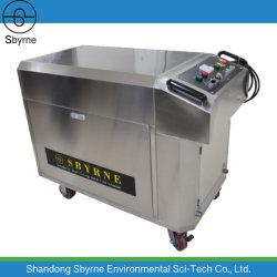Automática Industrial la esterilización de línea de flotación Limpiador/máquina de limpieza para las aves de corral el tratamiento de agua/Línea de la acuicultura