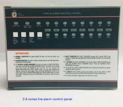 Panneau de commande d'alarme incendie conventionnelle pour système d'alarme incendie et de la sécurité du système d'alarme