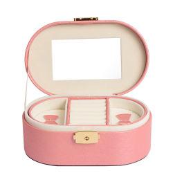Contenitore di monili su ordinazione degli orecchini del braccialetto dell'anello di modo per i regali impaccanti