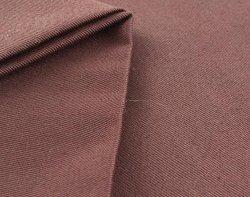 Gewebe gesponnenes Baumwollarbeitskleidungs-Gewebe des Schokoladen-Farbetc-80% Polyester-20%