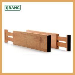 Os Divisores de Gaveta de cozinha em bambu melhor para cozinha, Dresser, quarto, gaveta de bebé, casa de banho, secretária Homex-BSCI